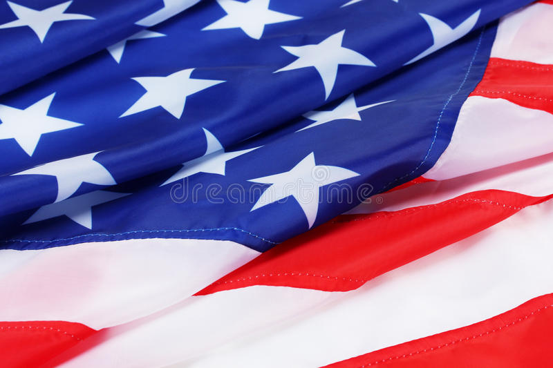 American flag background. American flag as a background royalty free stock photography