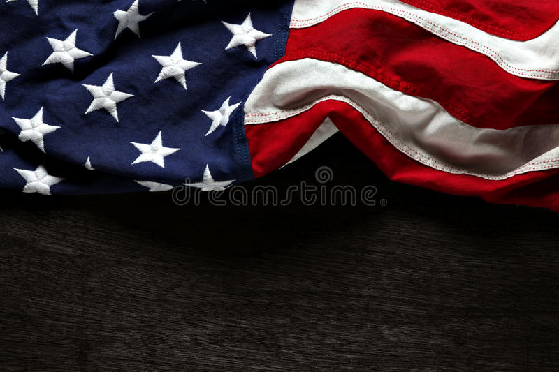 American flag background. American flag for Memorial Day or 4th of July royalty free stock images