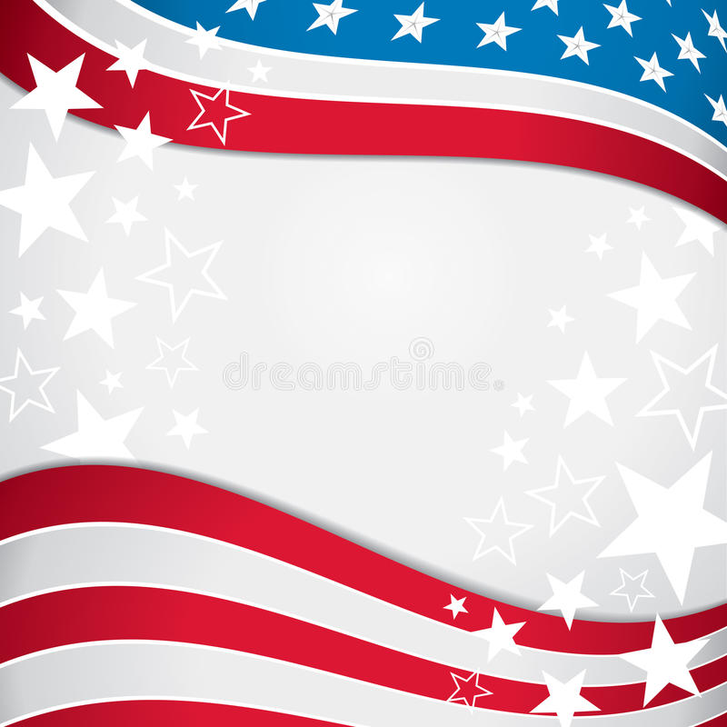 American Flag Background. An American flag background with the stars and stripes