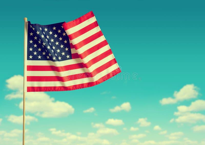American flag. royalty free stock photos
