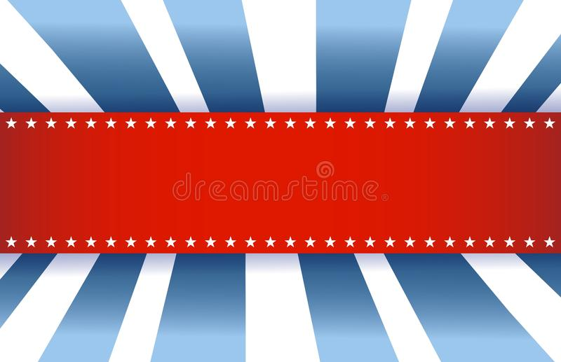 Download American Flag Design, Red White And Blue Stock Illustration - Image: 29052431