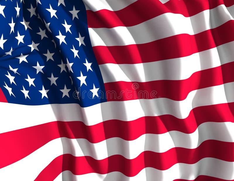 Download American flag stock illustration. Illustration of nation - 35388883