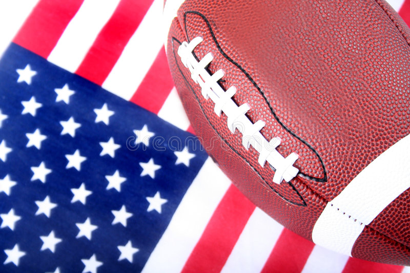 Download American Flag And Football Stock Images - Image: 514054