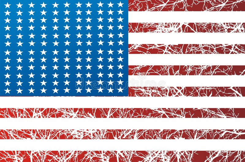 American Flag Graphic Stock Photos