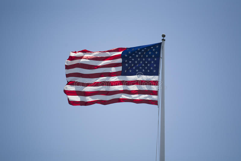 Download American Flag stock image. Image of culture, blue, image - 33117781