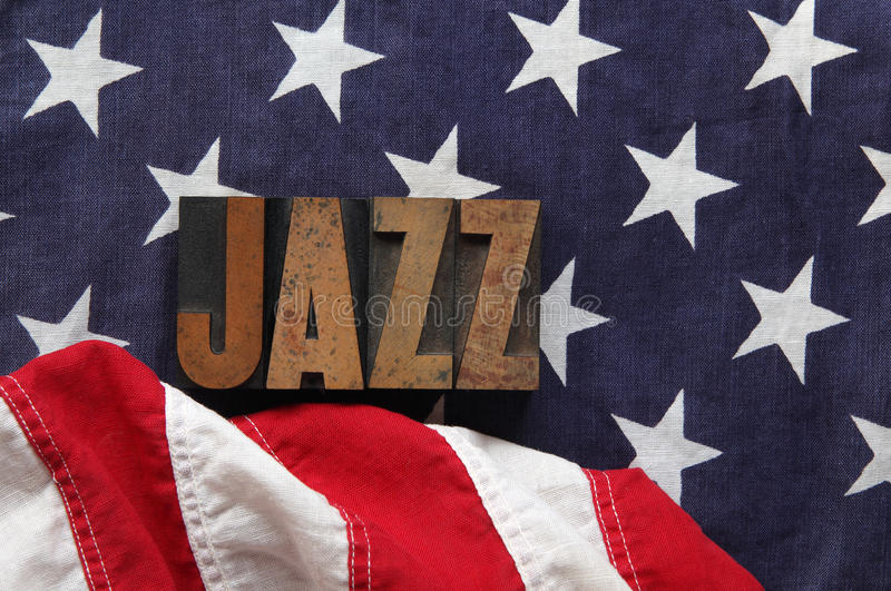 Download American Flag With Jazz Word Stock Image - Image of stained, jazz: 13120457