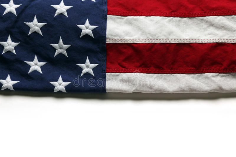 American flag. For Memorial Day or 4th of July stock images