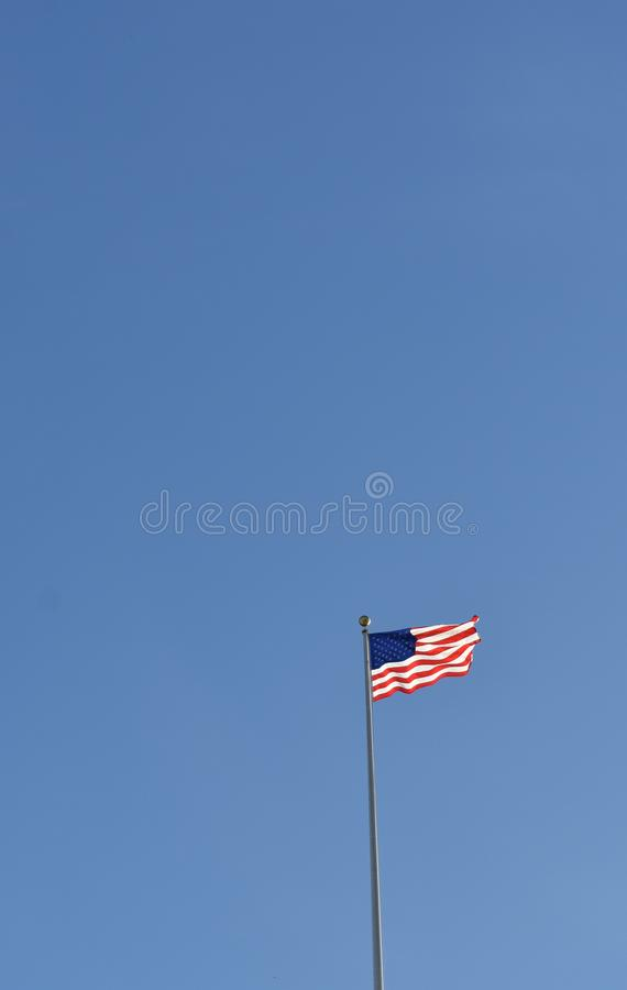American flag on pole above united states capital building stock download american flag on pole above united states capital building stock photo image sciox Image collections