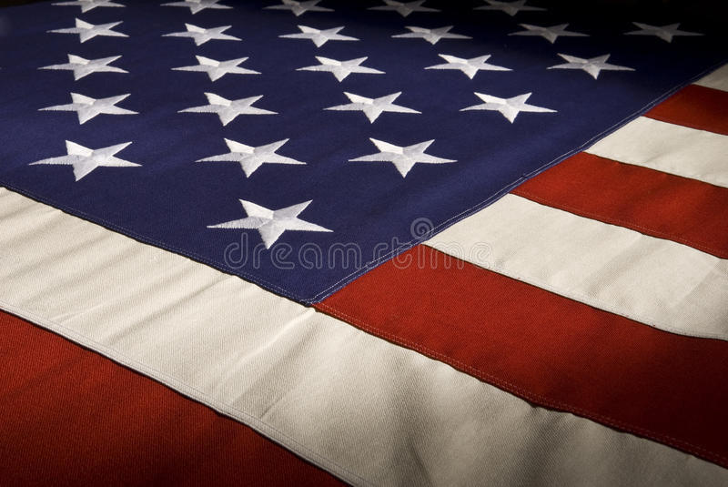 American Flag Series One stock photos