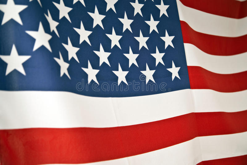 American Flag. Stars and stripes stock images