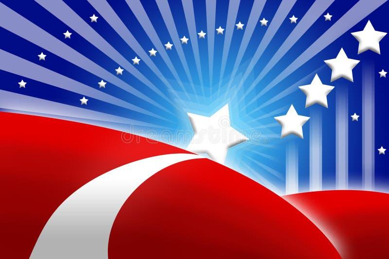 Download American Flag Stylized Background Stock Illustration - Illustration of democracy, style: 8721365
