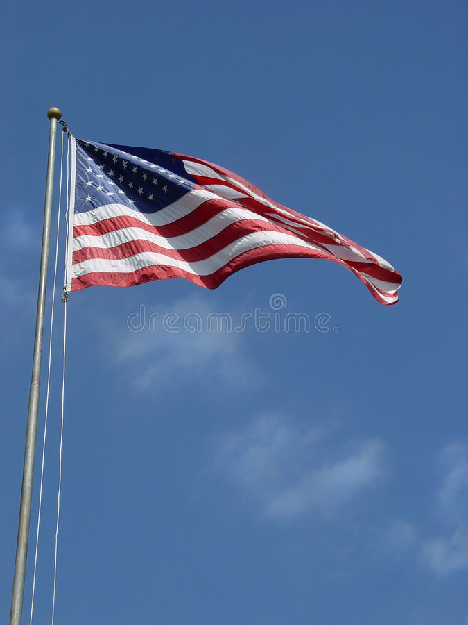 Free American Flag - Tall And Proud Stock Photography - 698772