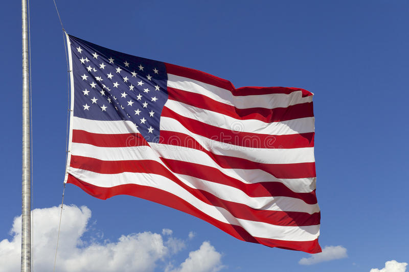 American Flag. United States of America royalty free stock image