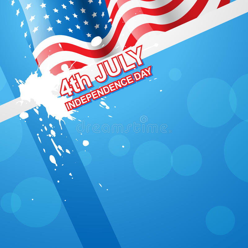 Download American flag vector stock vector. Image of illustration - 25442188