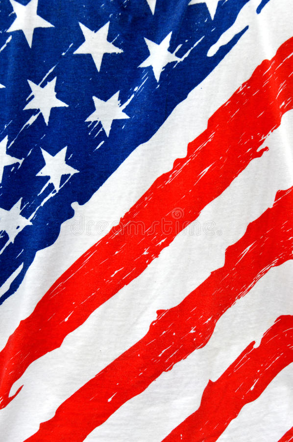 American flag. Vertical of american flag grunge stock images