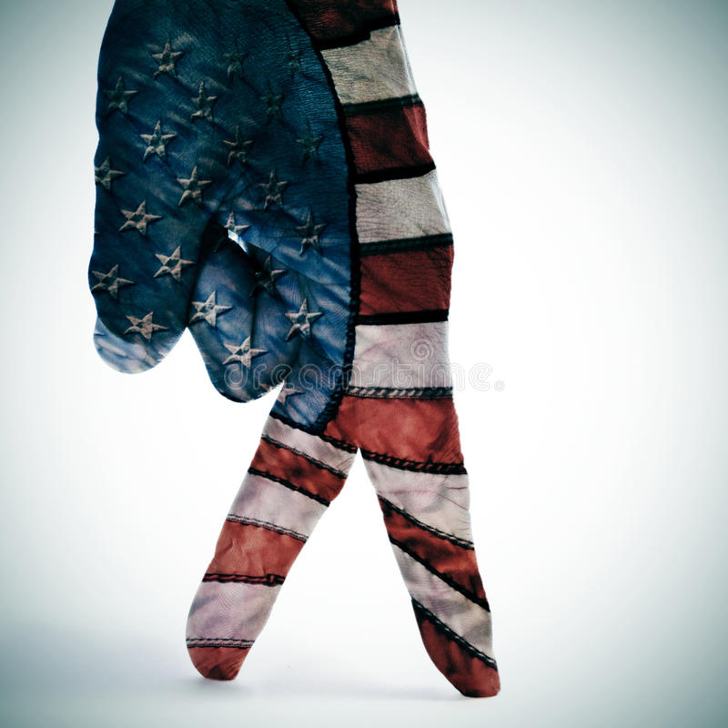 Download American flag walking stock photo. Image of pride, puppet - 38488812