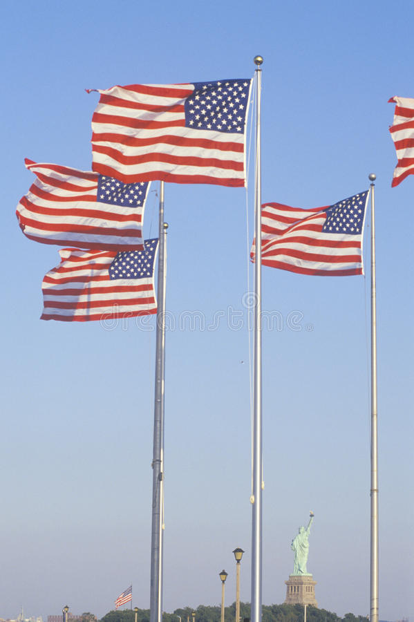 Download American Flags stock photo. Image of patriotism, statue - 26890380