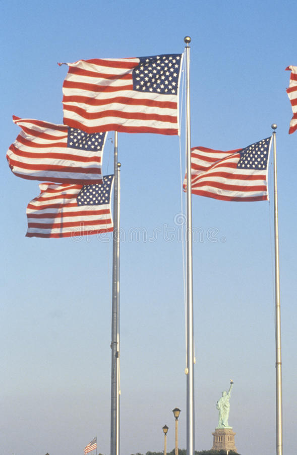 Download American Flags stock photo. Image of stars, tourism, flying - 26891086