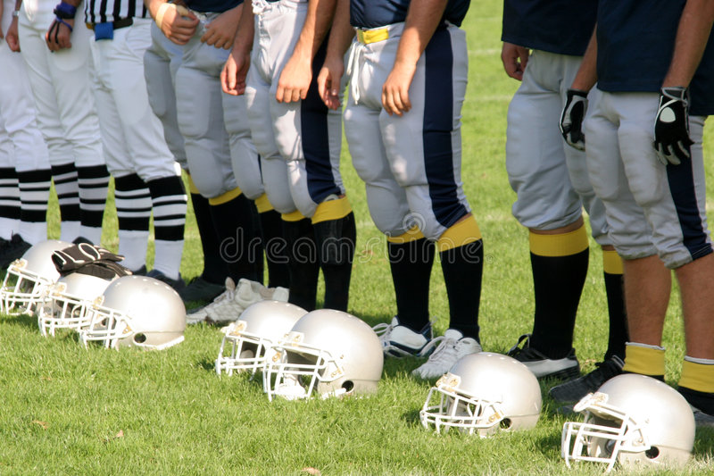 American football royalty free stock photos