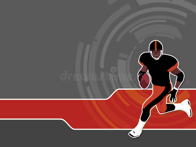 American Football 2 royalty free stock photography