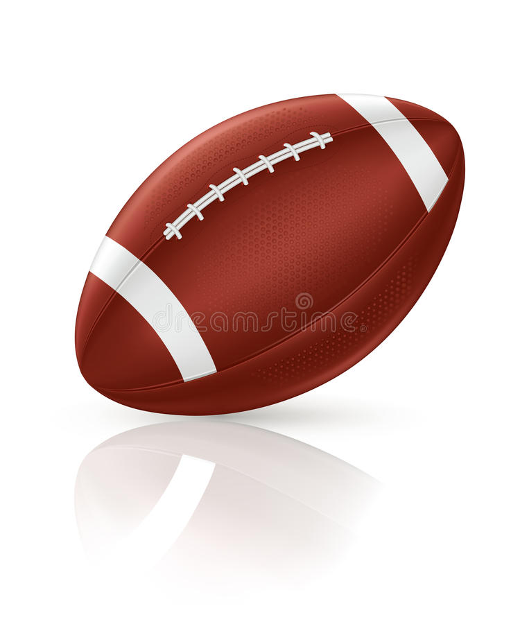 Download American Football stock vector. Image of pastime, isolated - 20113308