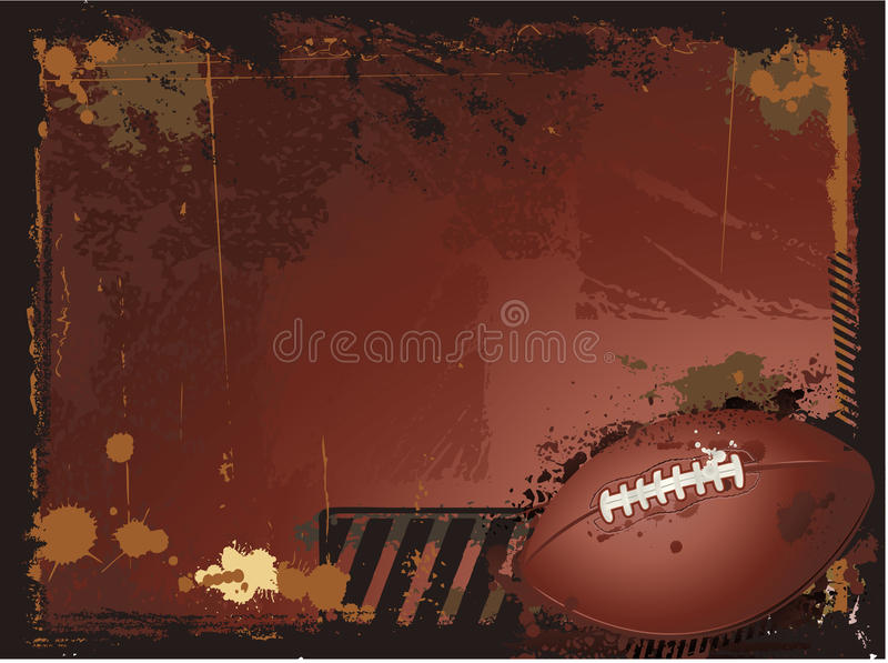 Download American Football Background Stock Vector - Image: 14486465