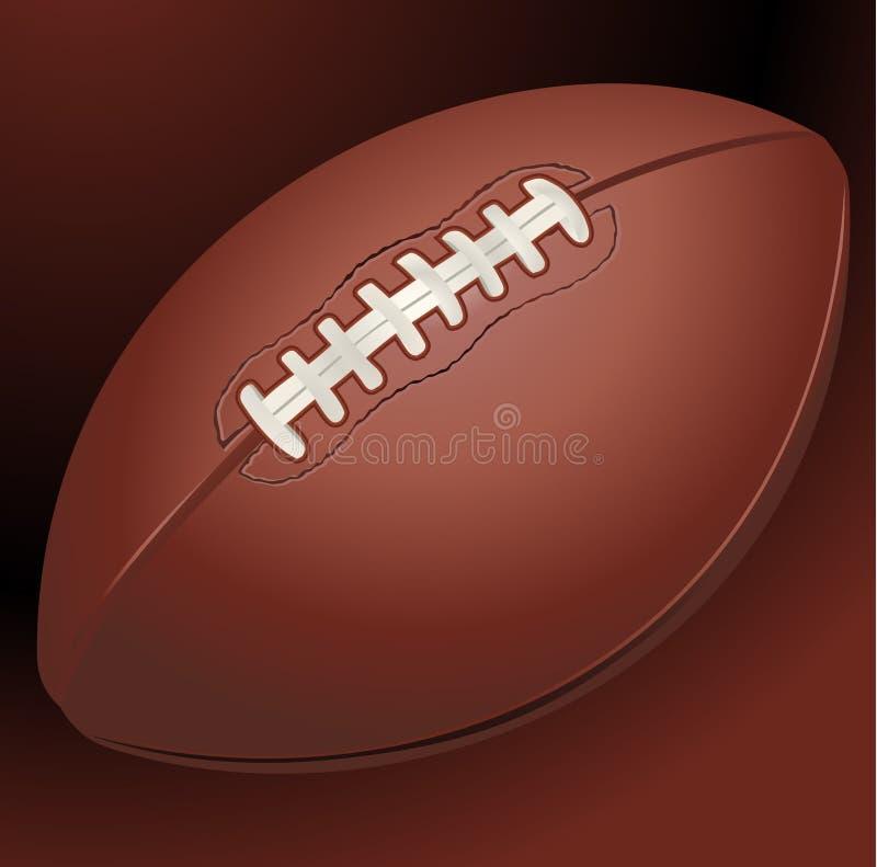 American football background vector illustration