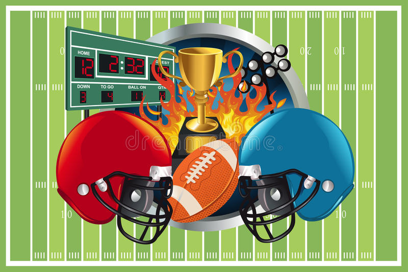 Download American Football Background Stock Images - Image: 20835474