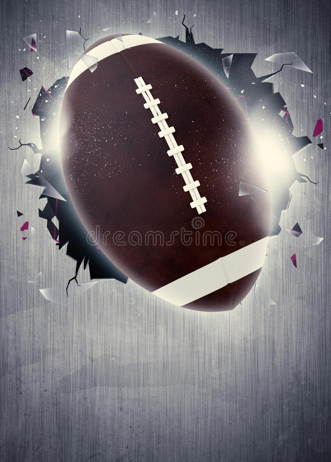 American football background royalty free stock photo