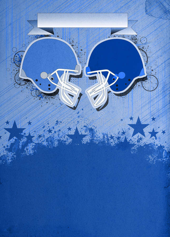 American football background. American football sport poster or flyer background with space royalty free stock photos