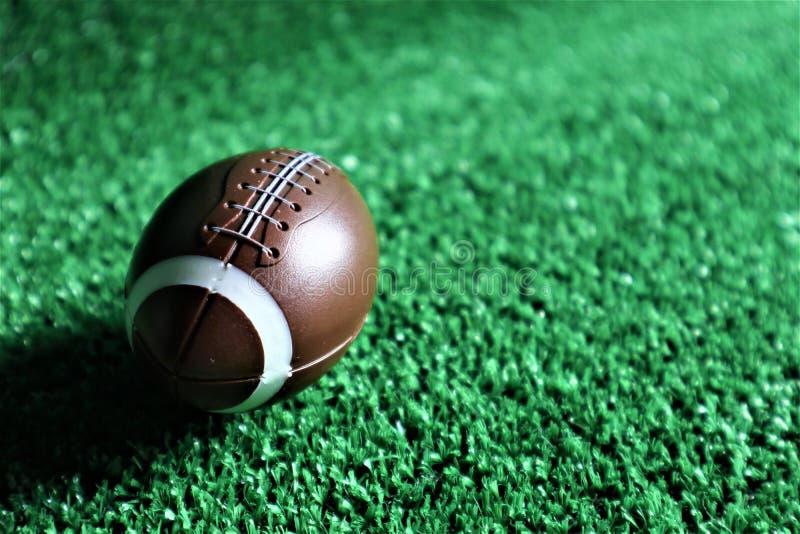 American football ball royalty free stock photos
