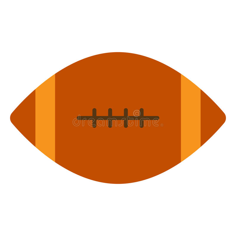 American football ball icon, vector illustration vector illustration