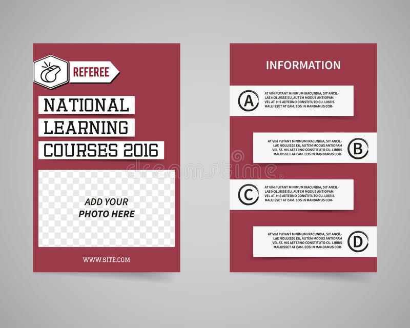 American football couch courses flyer template stock vector download american football couch courses flyer template stock vector illustration of design football spiritdancerdesigns Image collections