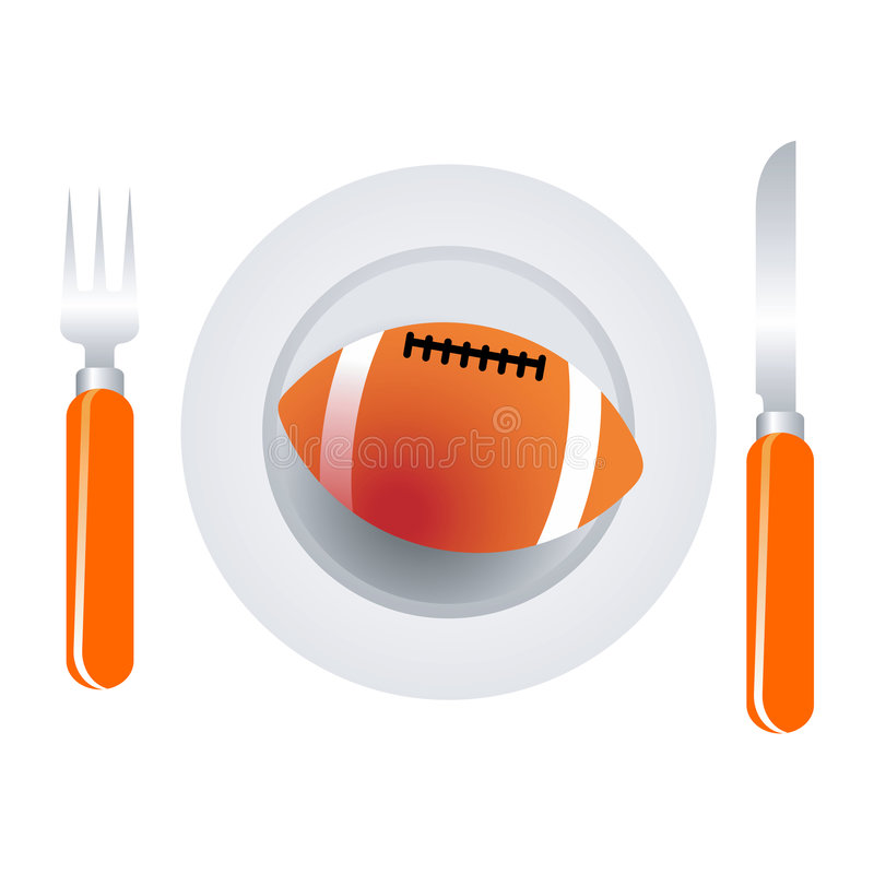 Download American Football Dish Royalty Free Stock Image - Image: 4766136