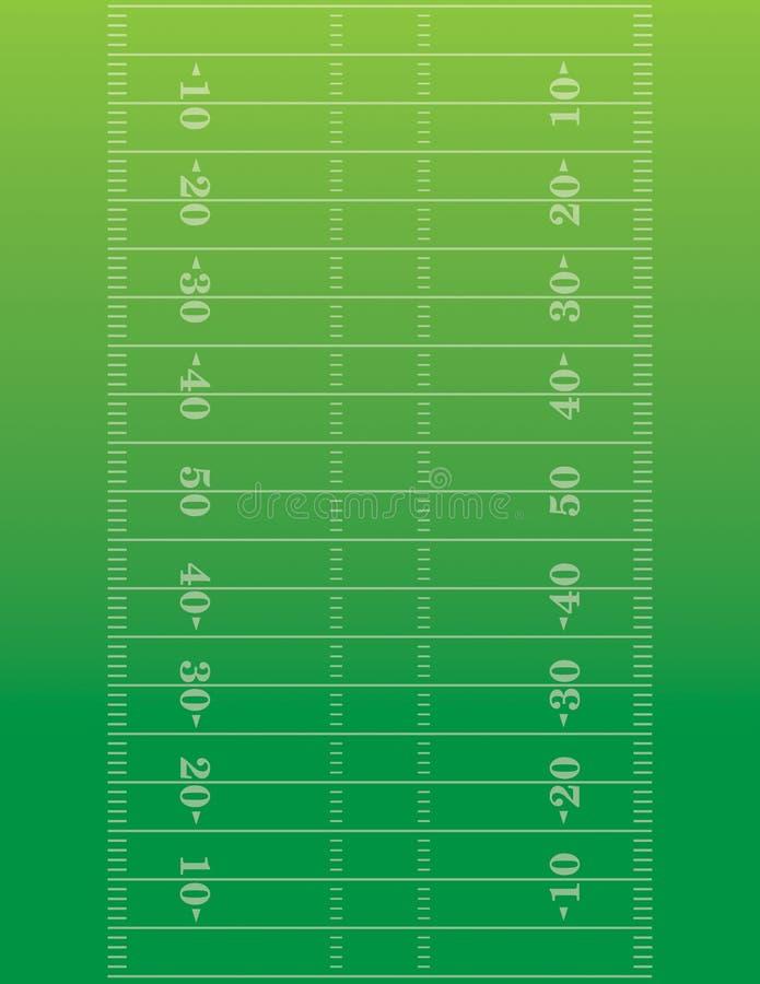 American Football Field Background Illustration Stock Vector - Illustration of equipment, photo ...