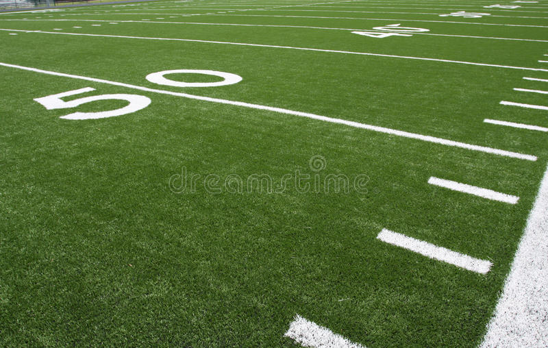 Download American Football Field Yard Lines Stock Photo - Image: 15688994