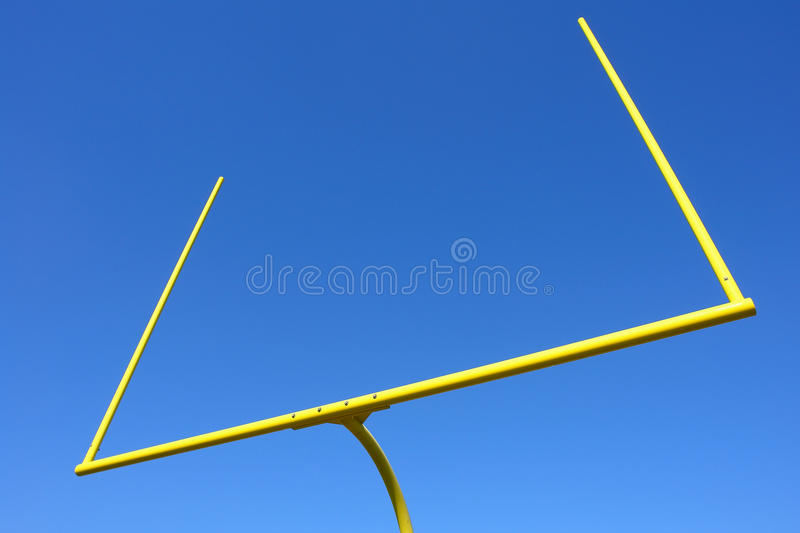 Download American Football Goal Posts Over Blue Sky Royalty Free Stock Image - Image: 15934216