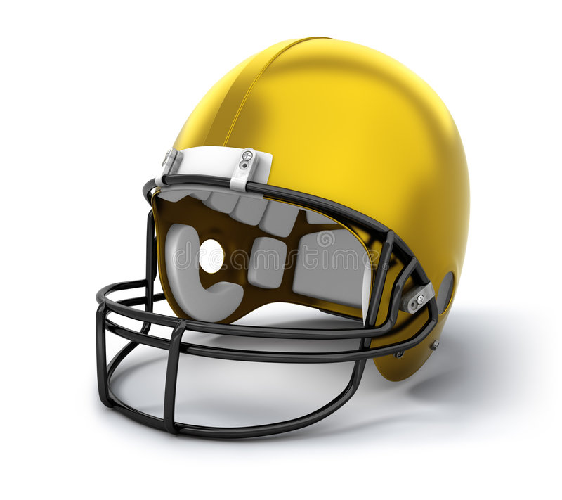Download American football helmet stock illustration. Image of protection - 6505132