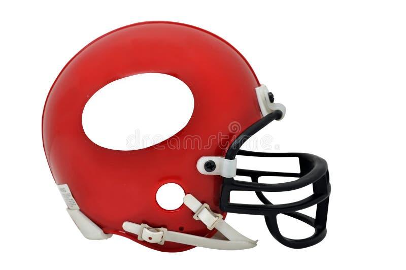 American Football Helmet Isolated stock photography