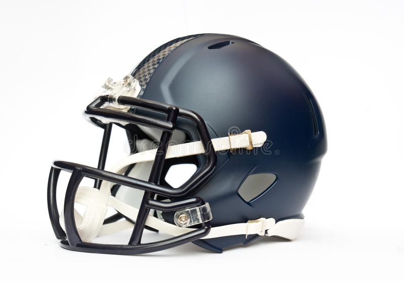 American football helmet. Isolated on white backgrounda stock images