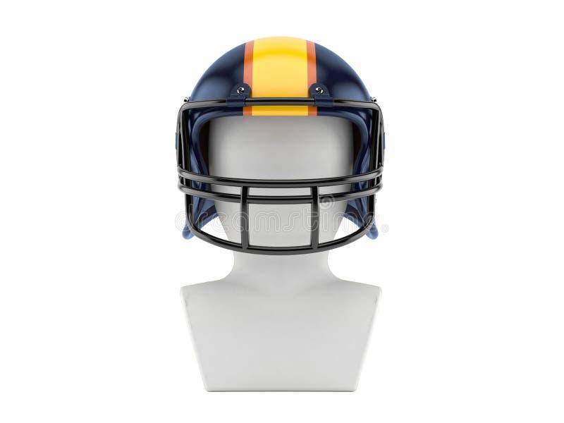 American football icon stock illustration