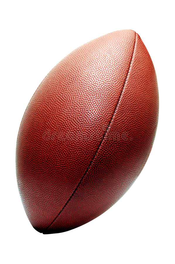 American Football Isolated stock images