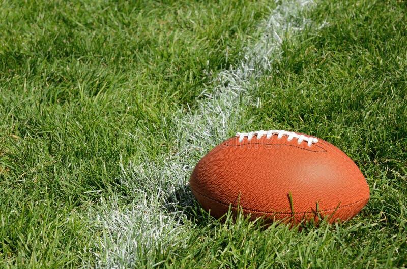 grass american football field. Download American Football On Natural Grass Field Stock Photo - Image Of Field, Yard: