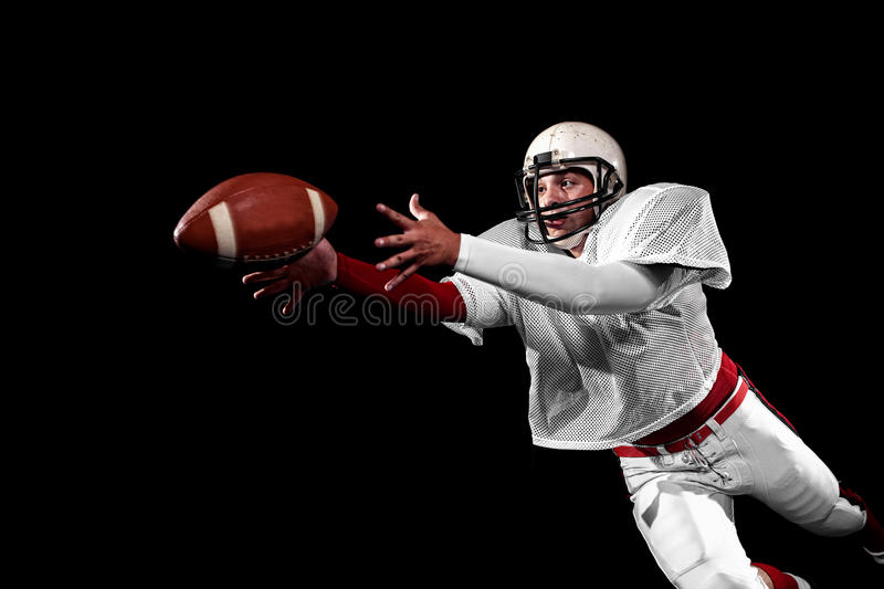 American football player. royalty free stock photo