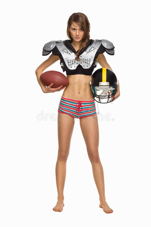 American Football Player royalty free stock photos