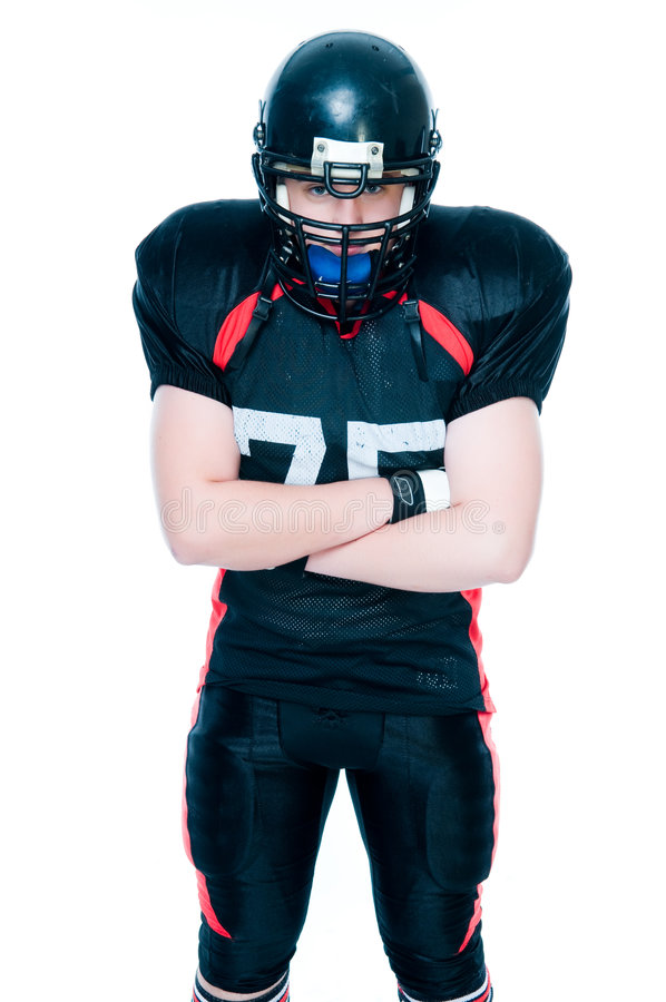 Free American Football Player Stock Photography - 7711622