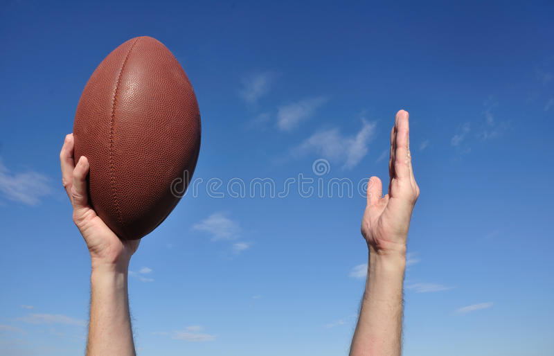 Download American Football Player Celebrates A Touchdown Stock Image - Image: 16680409