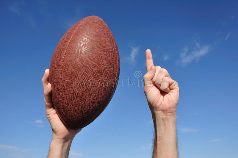 Download American Football Player Celebrates A Touchdown Stock Photo - Image: 16955248