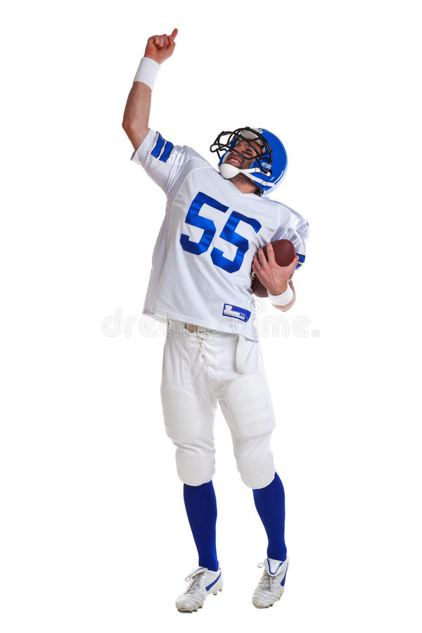 Download American Football Player Cut Out Stock Photo - Image: 19396750
