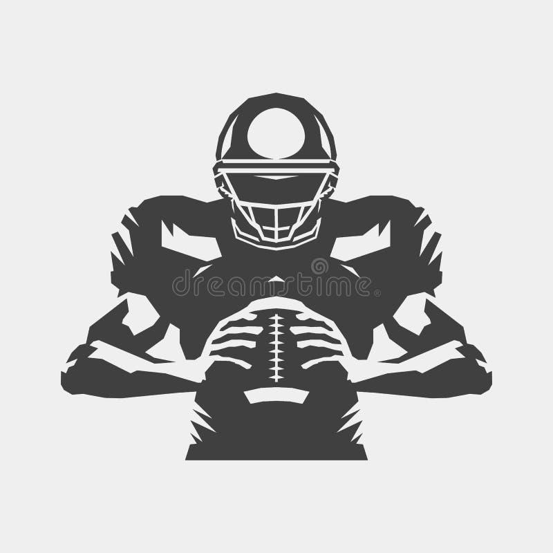 Free American Football Player Symbol Stock Photography - 154322962